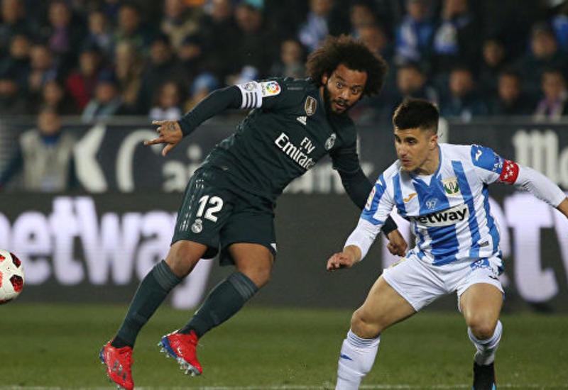 «Реал» уступил «Леганесу» в ответном матче, но вышел в 1/4 финала Кубка Испании