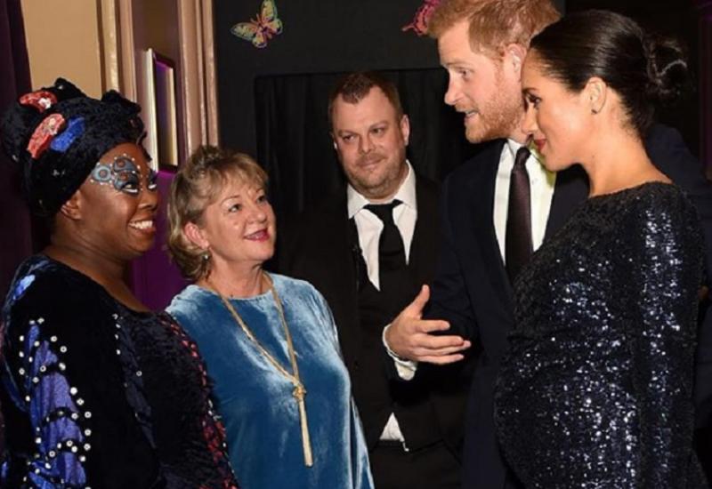 Меган Маркл пошла на цирковое шоу с браслетом принцессы Дианы