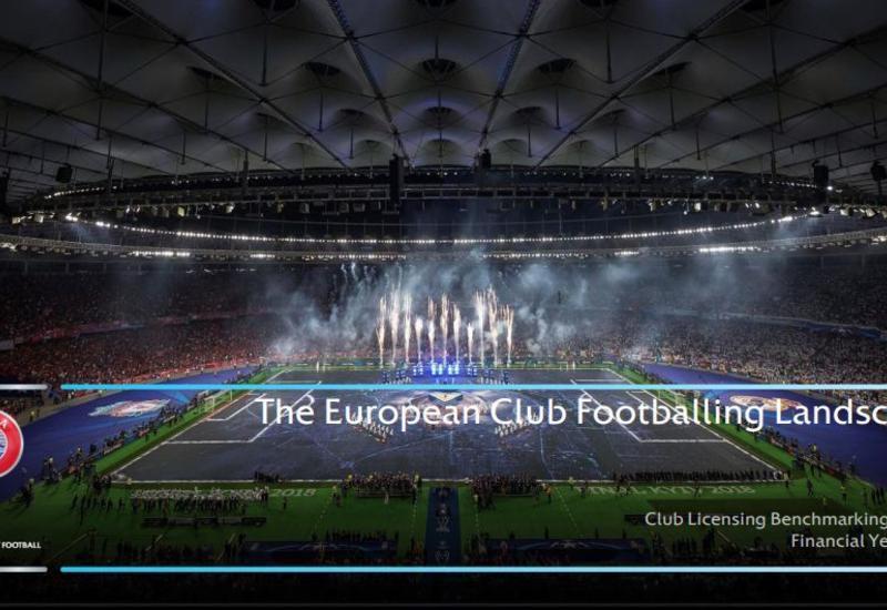 Азербайджанские клубы получили от УЕФА 20 млн евро