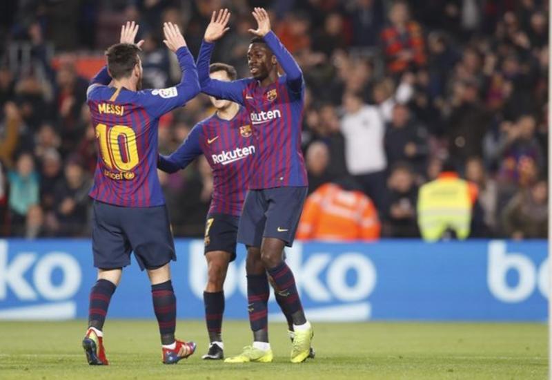 «Барселона» разгромила «Леванте» и вышла в четвертьфинал Кубка Испании