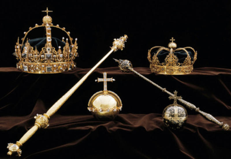 Раскрыта кража короны шведского короля