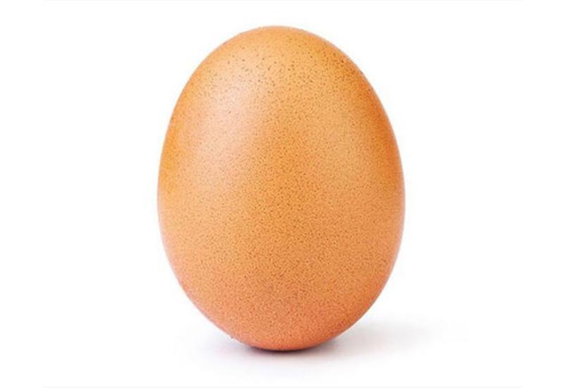 На странице яйца-рекордсмена появилось еще одно фото