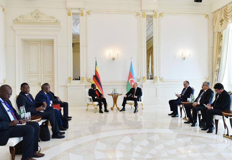 Президент Зимбабве: Уровень развития и инфраструктуры в Азербайджане произвел очень сильное впечатление