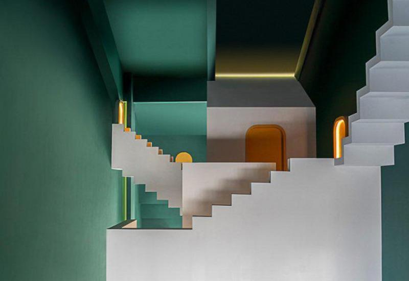 ВКитае создали отель сбесконечными лестницами