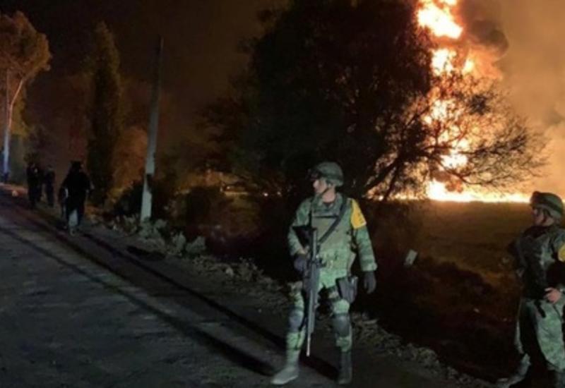 """Ужасный взрыв трубопровода в Мексике, десятки погибших <span class=""""color_red"""">- ОБНОВЛЕНО - ФОТО - ВИДЕО</span>"""