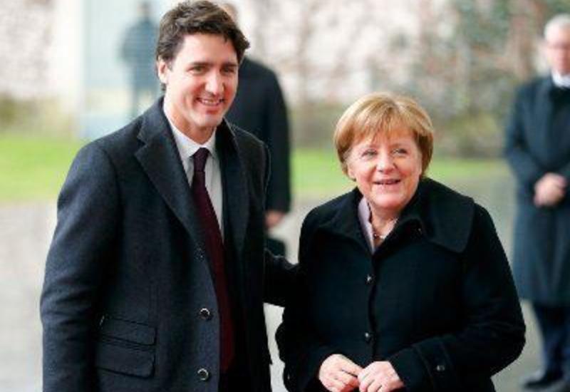 Трюдо и Меркель обсудили ситуацию с задержанием канадцев в Китае и Brexit