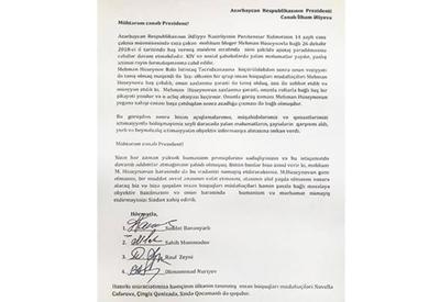 Hüquq müdafiəçiləri Mehman Hüseynova görə Prezidentdən xahiş etdilər