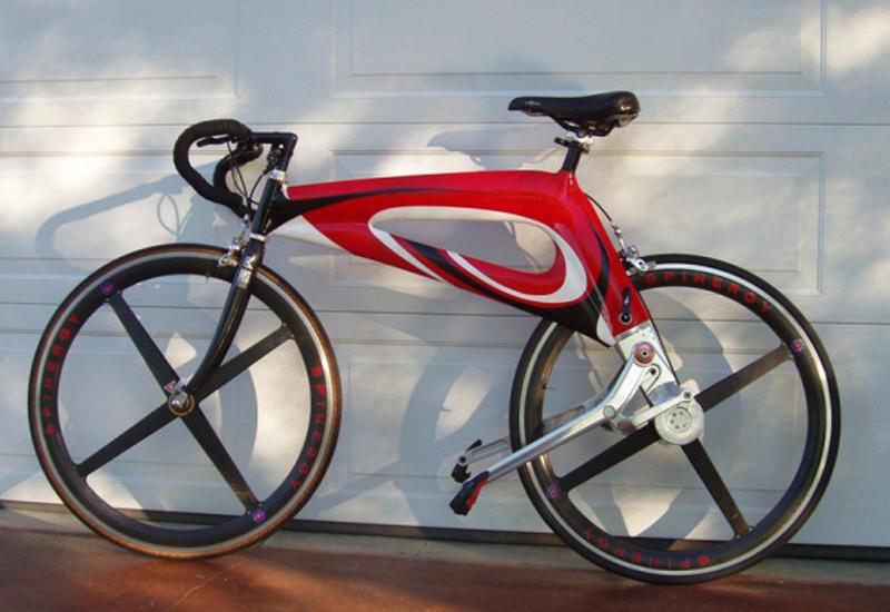 Американский изобретатель представил велосипед безцепи