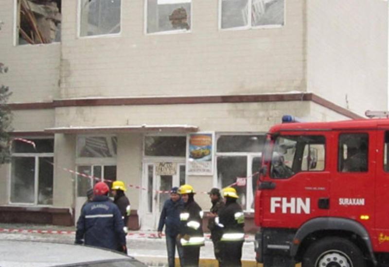 В Баку перевернулась цистерна с 22 т сжиженного газа