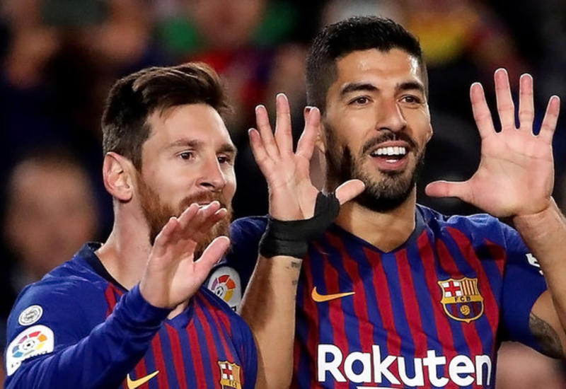 """""""Барселона"""" одержала седьмую подряд победу в чемпионате Испании"""