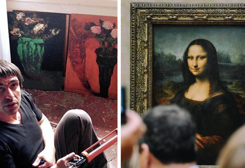 """Невероятный арт от азербайджанского художника в Париже <span class=""""color_red"""">- ФОТО</span>"""
