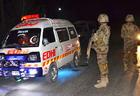 В Пакистане разбился военный самолет