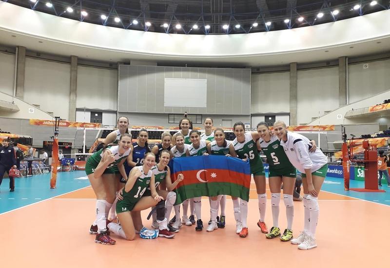 Определились соперники женской сборной Азербайджана на ЧЕ по волейболу