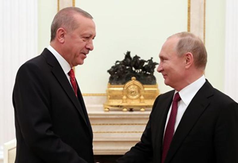 О чем Путин и Эрдоган говорили в Москве