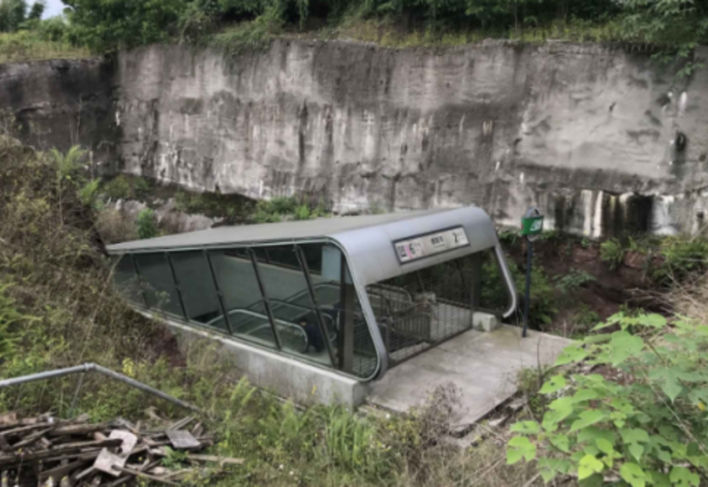 """Выход в никуда: в Китае работает самая одинокая и ненужная станция метро <span class=""""color_red"""">- ФОТО</span>"""