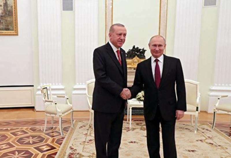 Путин о вкладе Турции в борьбу с террористической угрозой в Сирии