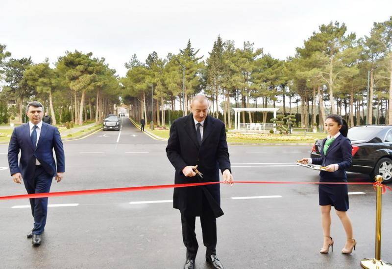 """Президент Ильхам Алиев принял участие в открытии НИИ овощеводства в Баку <span class=""""color_red"""">- ФОТО</span>"""