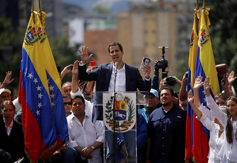 Некоторые страны Латинской Америки признали Гуаидо президентом Венесуэлы