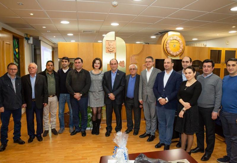 """Рабочая группа межправительственной комиссии посетила Израиль <span class=""""color_red"""">- ФОТО</span>"""