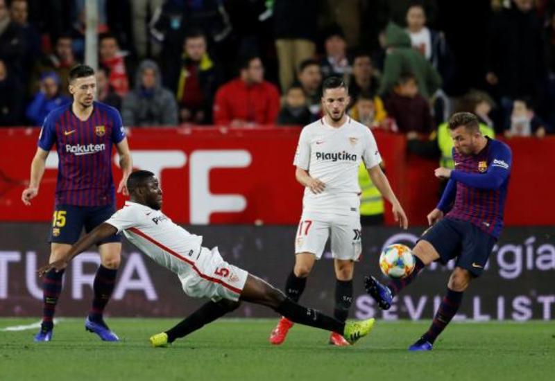 «Барселона» в гостях проиграла «Севилье»