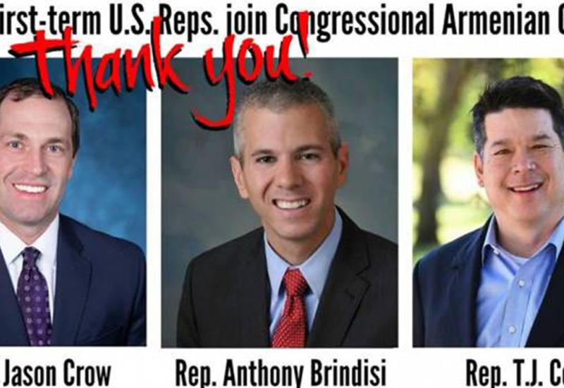 Армяне США купили еще троих конгрессменов
