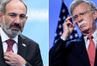 Болтон позвонил Пашиняну и вызвал панику в Армении