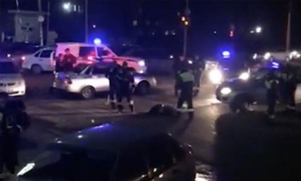 Поножовщина, стрельба и2 трупа: ВНальчике напали наполицейских