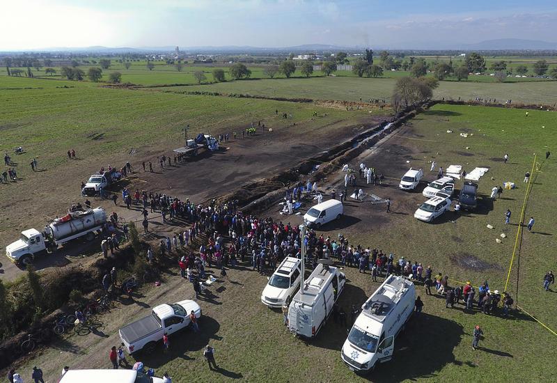 Число жертв ужасного взрыва в Мексике достигло 114