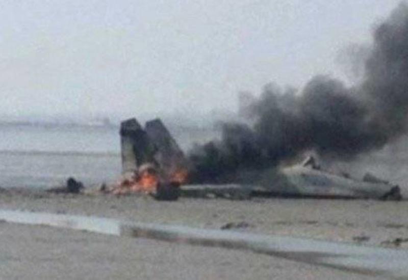 В Индии разбился истребитель ВВС
