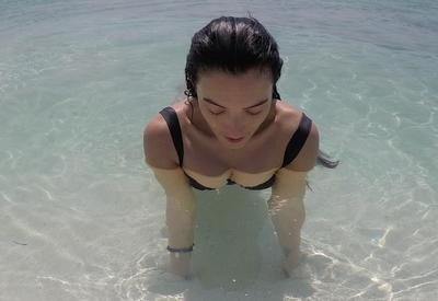 "Диляра Кязимова делится горячими фото с отдыха на Мальдивах <span class=""color_red"">- ФОТО</span>"