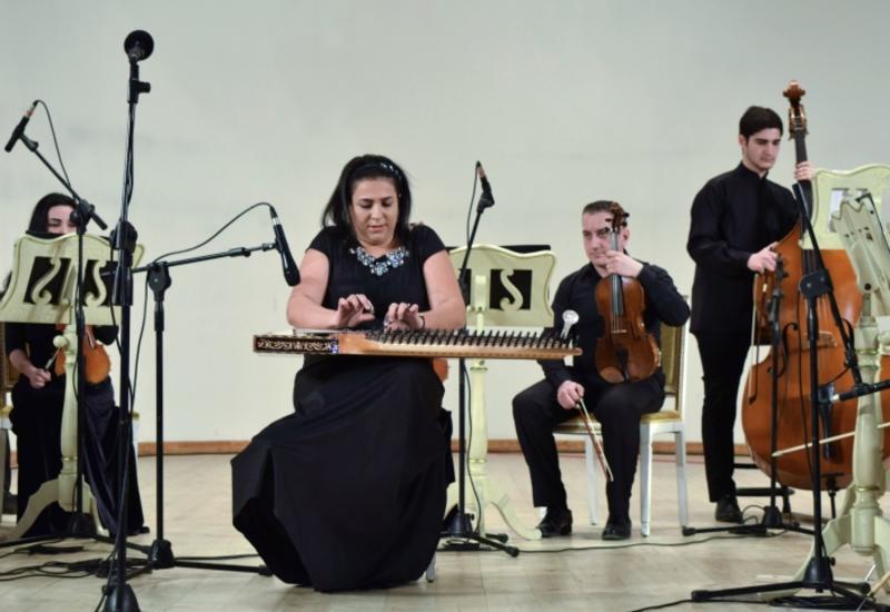 В Филармонии состоялся сольный концерт заслуженной артистки Чинары Гейдаровой