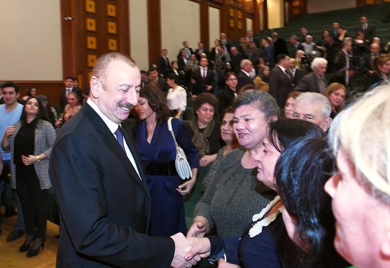 Член семьи шехида: Семьи шехидов всегда ощущают внимание и заботу Президента Ильхама Алиева