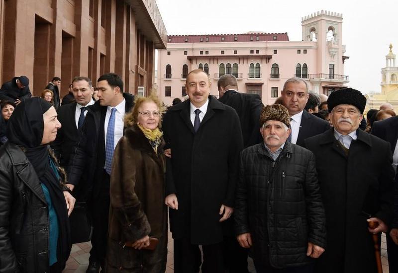 Президент Ильхам Алиев относится к семьям шехидов как к родным