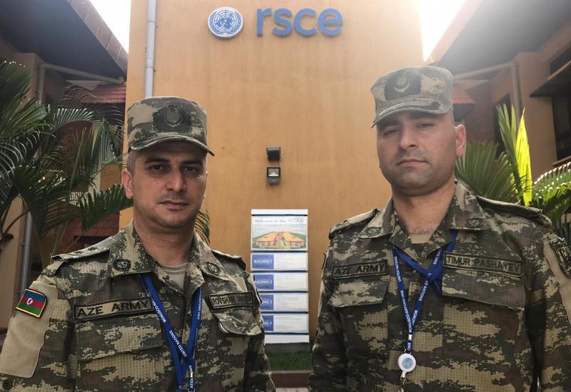 Азербайджанские миротворцы начали службу в Южном Судане