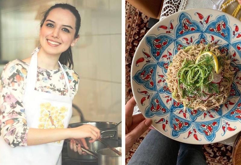 Легкий и вкусный куриный салат – Рецепт от Или Мамедовой