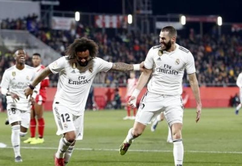 «Реал» вышел в полуфинал Кубка Испании, обыграв «Жирону»