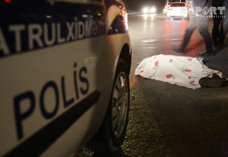 Ужасное ДТП в Сумгайыте: автомобиль насмерть сбил пешехода