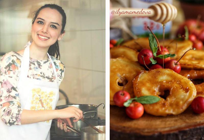 Яблочные оладьи - Рецепт от Или Мамедовой