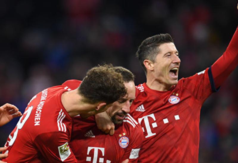 «Бавария» в дополнительное время одолела «Герту» в Кубке Германии