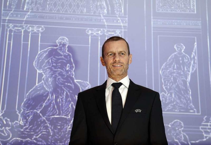 Александер Чеферин переизбран на пост президента УЕФА