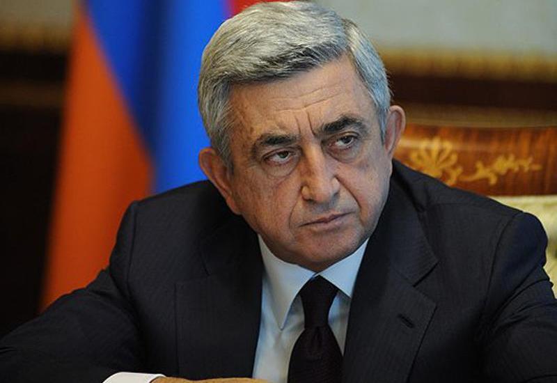 Против Сержа Саргсяна возбудили дело