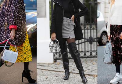 """Как носить черные колготки и оставаться стильной? <span class=""""color_red"""">- ФОТО</span>"""
