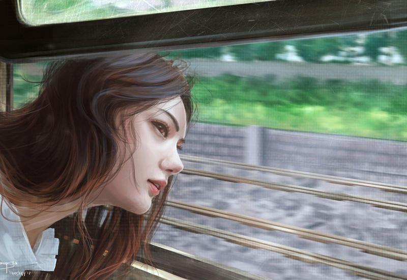 Вот почему нельзя высовывать голову из окна поезда