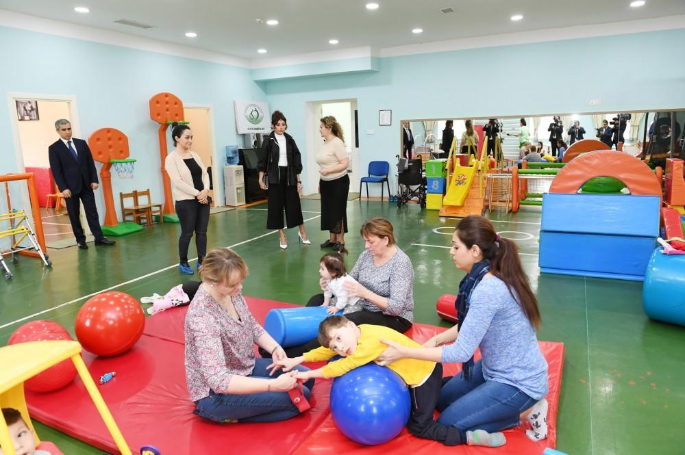 Первый вице-президент Мехрибан Алиева посетила Детский психоневрологический центр в Баку