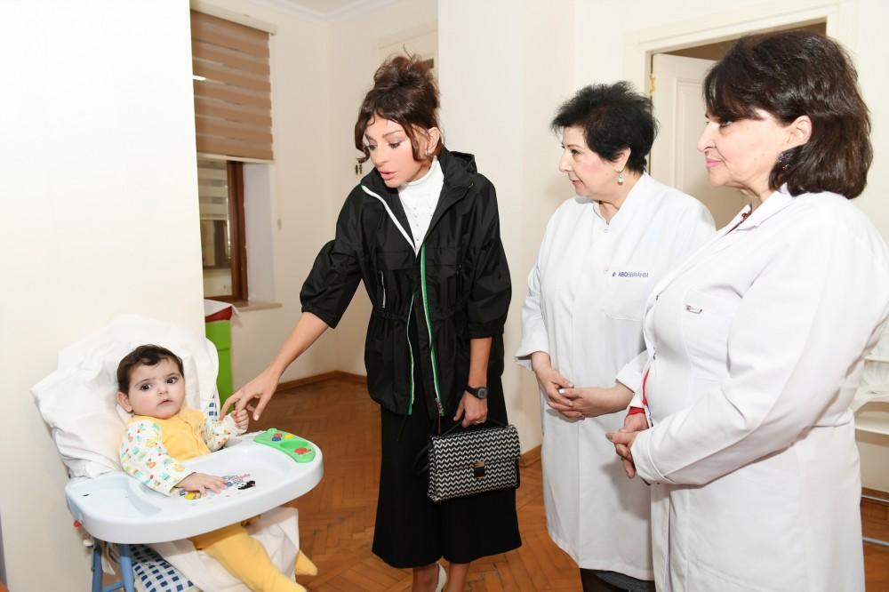 Первый вице-президент Мехрибан Алиева посетила ясли №1 в Баку