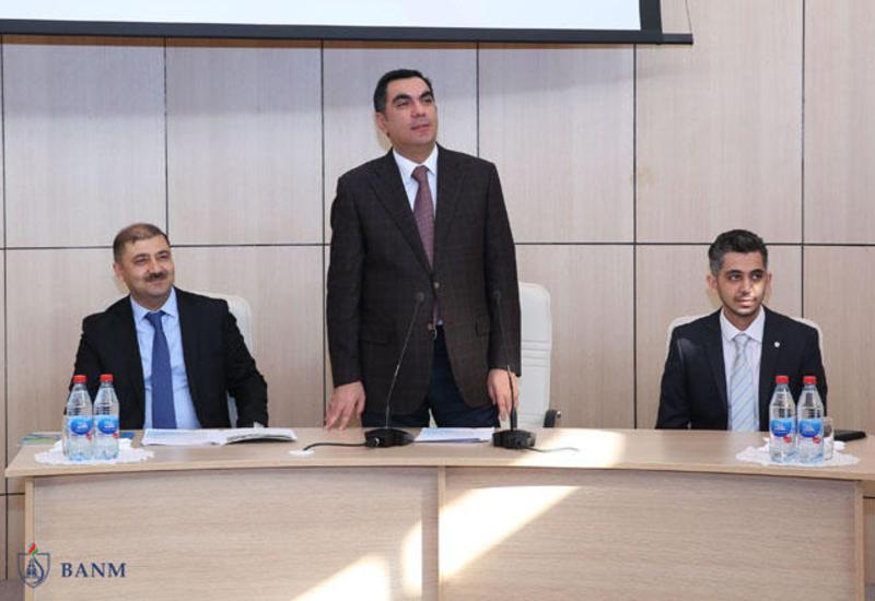 «Азеркосмос» провел семинар в БВШН
