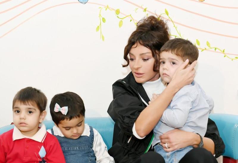 Первый вице-президент Мехрибан Алиева поблагодарила сотрудников детских учреждений за трепетную заботу о воспитанниках