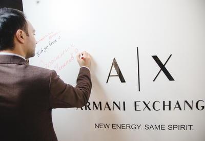 Armani Exchange – центр молодежной моды в Баку открыл свои двери