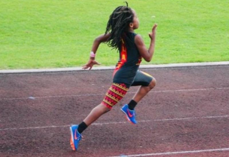 Самый быстрый мальчик в мире пробегает стометровку с невероятным результатом