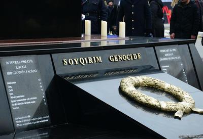 В Баку проводятся подготовительные работы в связи с 27-й годовщиной Ходжалинского геноцида